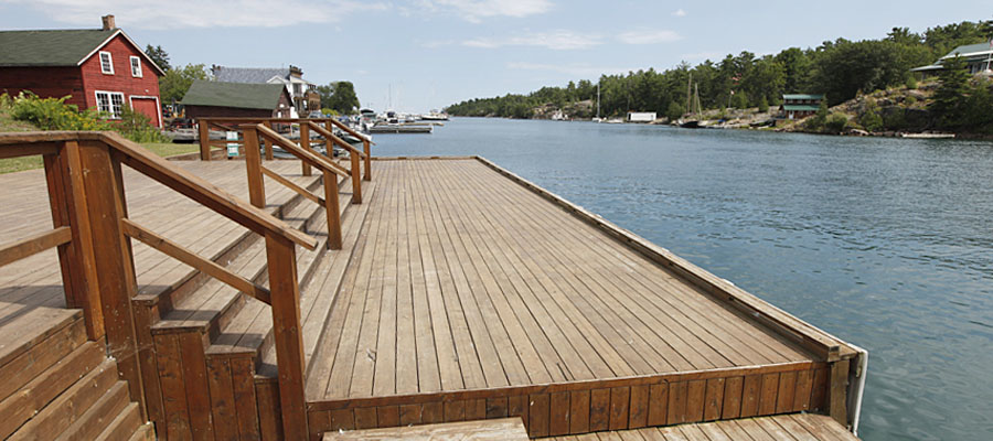 photo of boat launch
