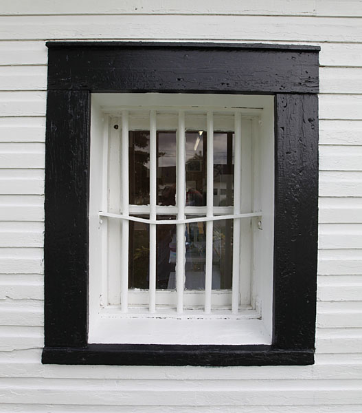 photo of jailhouse window